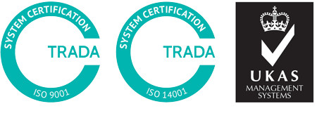 Quality & Environmental certification Logo